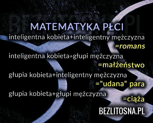 MATEMATYKA PŁCI