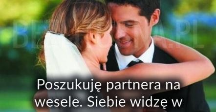 szukam partnera na wesele Gorzów Wielkopolski